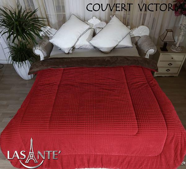Victoria Rouge Clairest devenu un produit de couverture à succès pour l'hiver à partir de 2015. Les couvertures molletonnées sont peu coûteuses sur le marché, mais pour Lasante