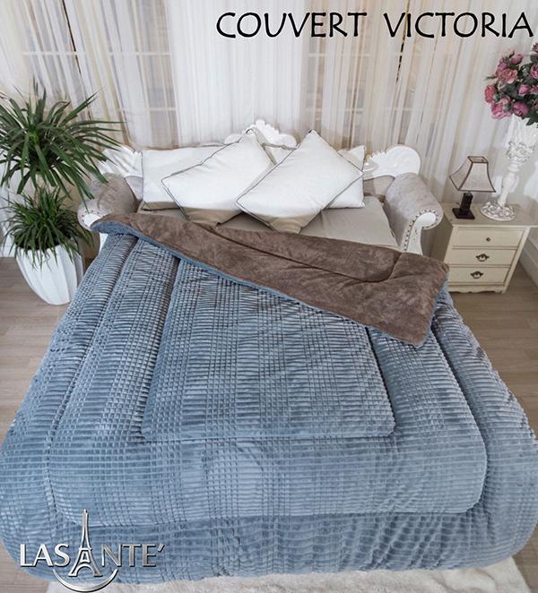 Victoria Grisest devenu un produit de couverture à succès pour l'hiver à partir de 2015. Les couvertures molletonnées sont peu coûteuses sur le marché, mais pour Lasante